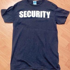 Cute security tee shirt